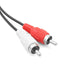 Unitek 3.5MM(M) TO 2RCA(M) AUDIO CABLE - 1.5M (Y-C904)