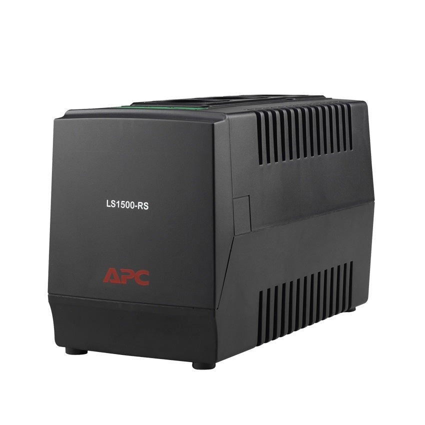 APC LS1500-MS AVR Line-R 1500VA Automatic Voltage Regulator with 3 Universal Outlets