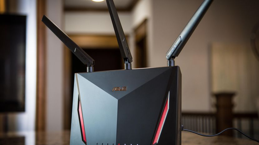 Asus RT-AC86U AC2900 AiMesh Dual Band Gigabit Gaming Router
