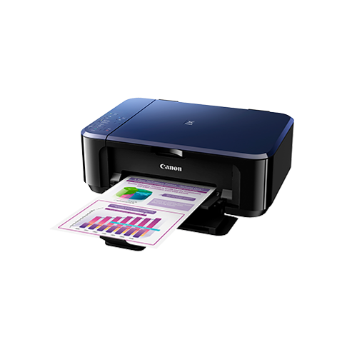 Canon Pixma E560 Ink Efficient Printer (Black/Red) (Free Gift Canon Paper 4x6 Photo Glo GP-508 20s worth RM12 & Canon Calculator AS-120V worth RM29)