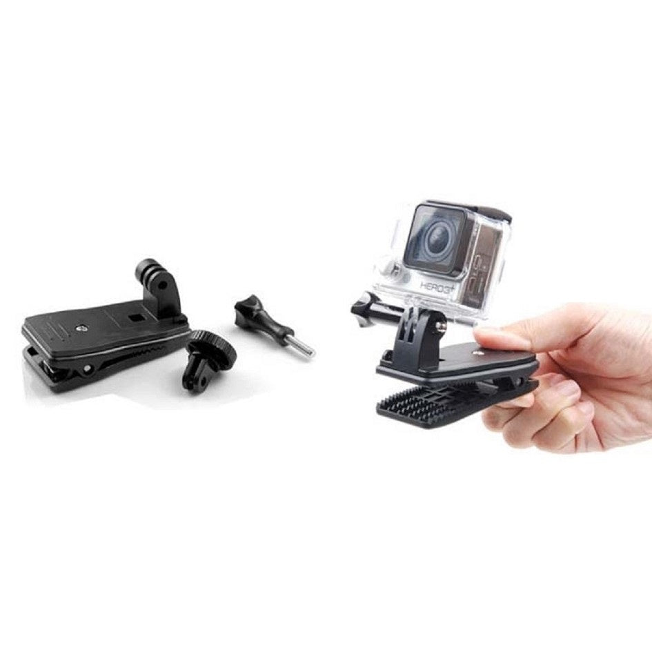 Proocam (GoPro) Action Camera Clip Toolkits (Rotatable 360 degree) (Pro-J200)