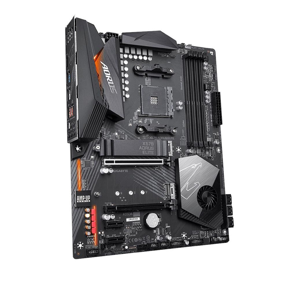 Gigabyte X570 Aorus Elite Motherboard (Chance to WIN iPhone 11 as prize!)