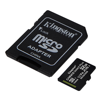 Kingston Canvas Select Plus MicroSD Card Memory Card C10 With SD Adapter (32GB / 64GB / 128GB) (New Year Sale 2021)