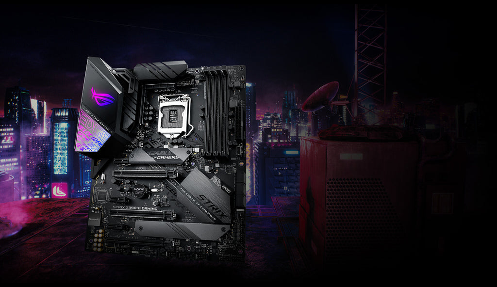 Asus Intel Strix Z390-E Gaming Motherboard