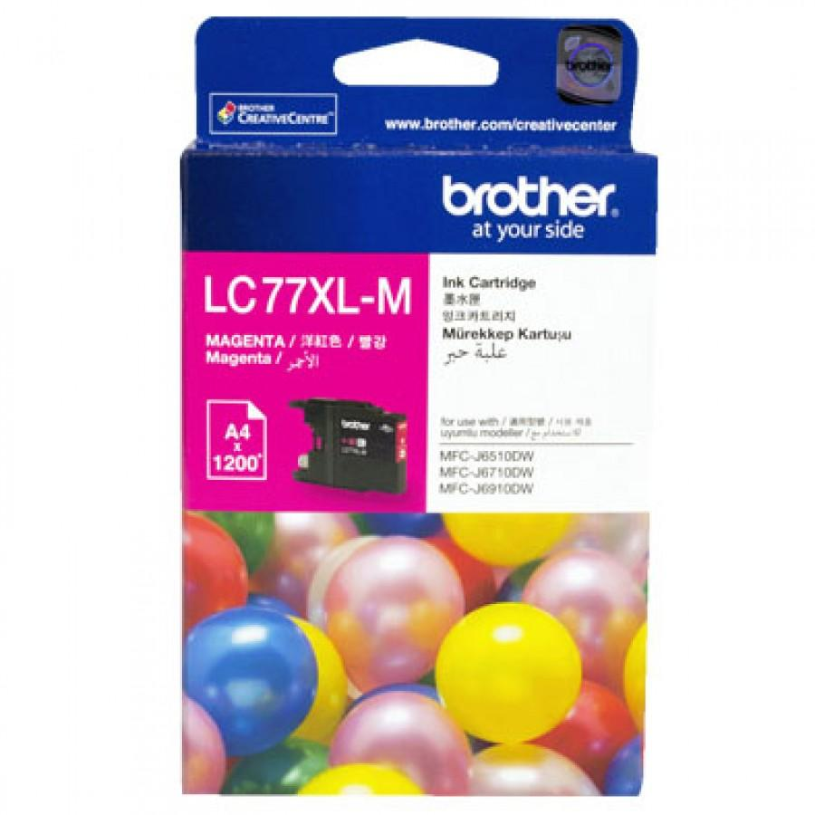 Brother LC77XL-BK LC77XL-C LC77XL-M LC77XL-Y Black/Cyan/Magenta/Yellow Ink Cartridge