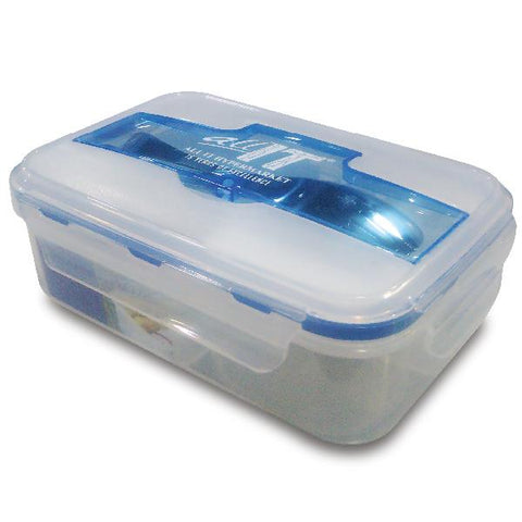 ALL IT 3-Compartment Lunch Box with Cutlery