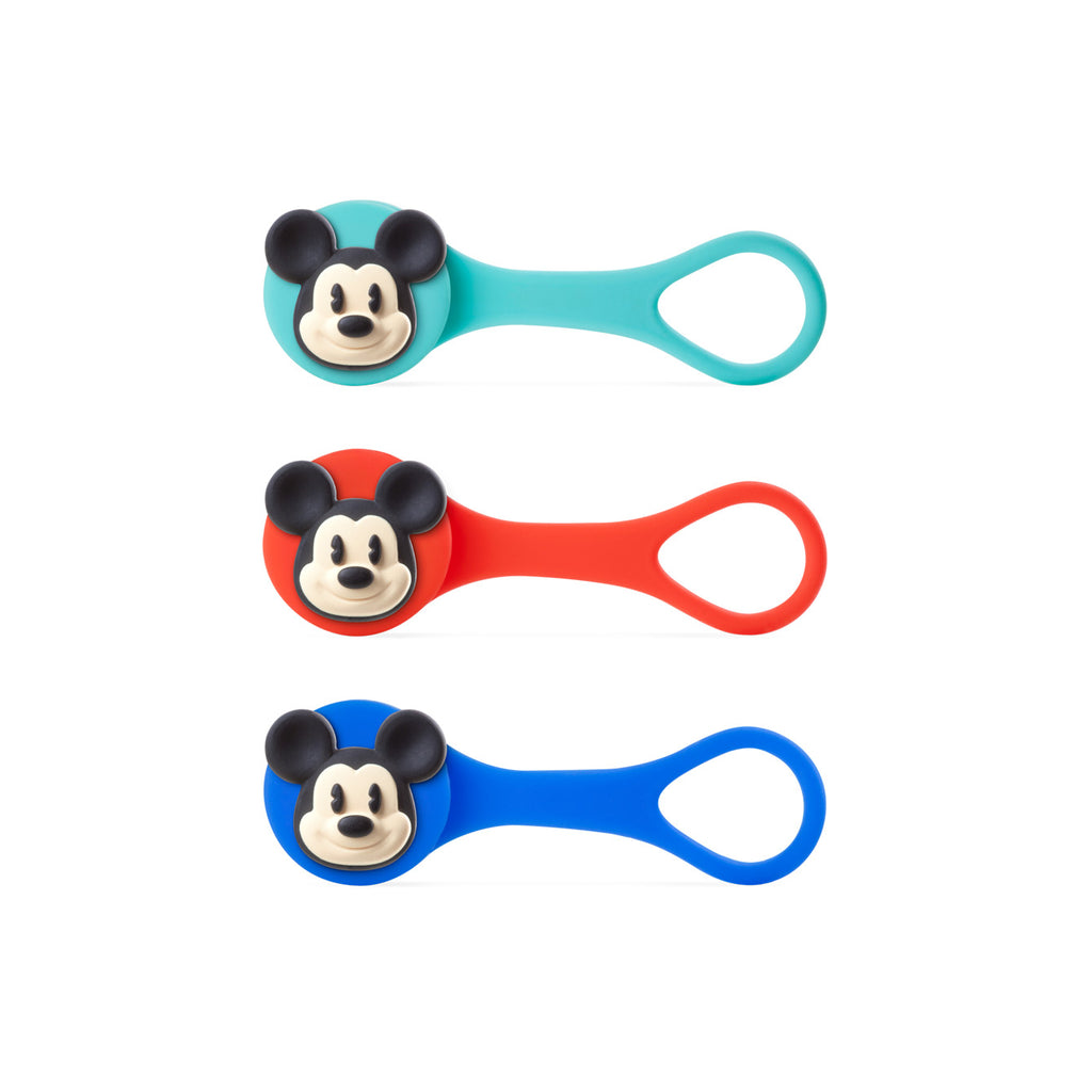 Bone Mickey Mouse Q Cord Ties LF14031 Toolkit