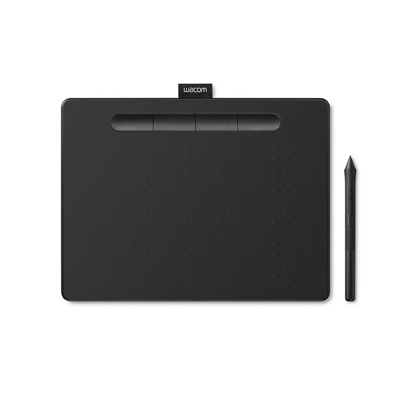 Wacom Intuos S CTL-4100 Drawing Tablet - Black (CTL-4100/K0-CX)
