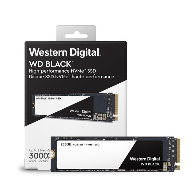 Western Digital Black M.2 NVME SSD (250GB/500GB/1TB)