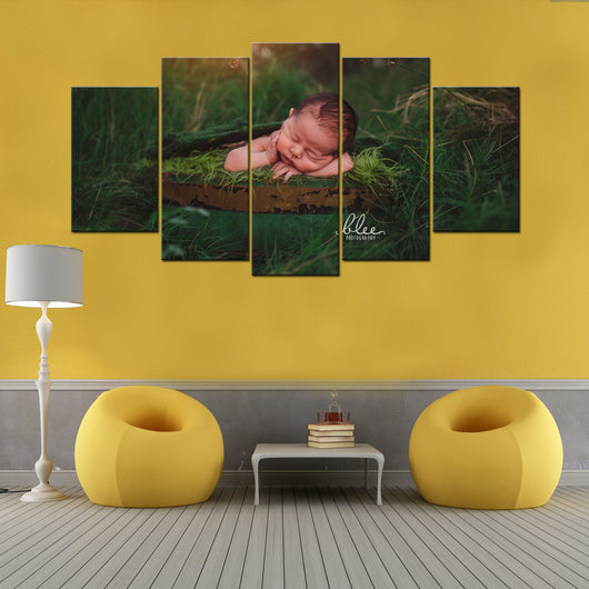Custom Made Baby 5 Piece Canvas Wallart - HD Quality – Gifts Corner