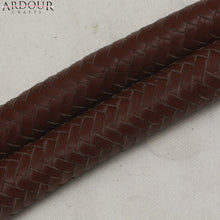 3 Feet Long 16 Plait Genuine Leather Bull Whip Heavy Duty Bullwhip Brown Like a Dragon Tail