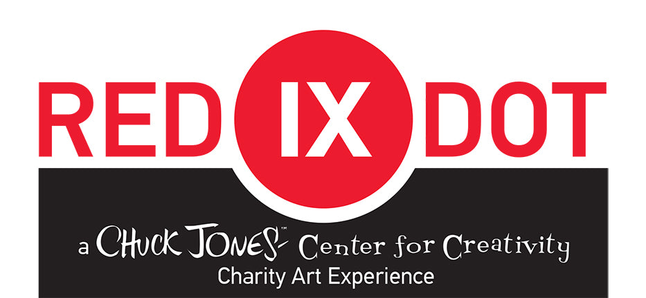 Red Dot IX - A Chuck Jones Charity Art Experience