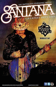 Win an intimate night with Santana - Greatest Hits LIVE in Las Vegas contest!