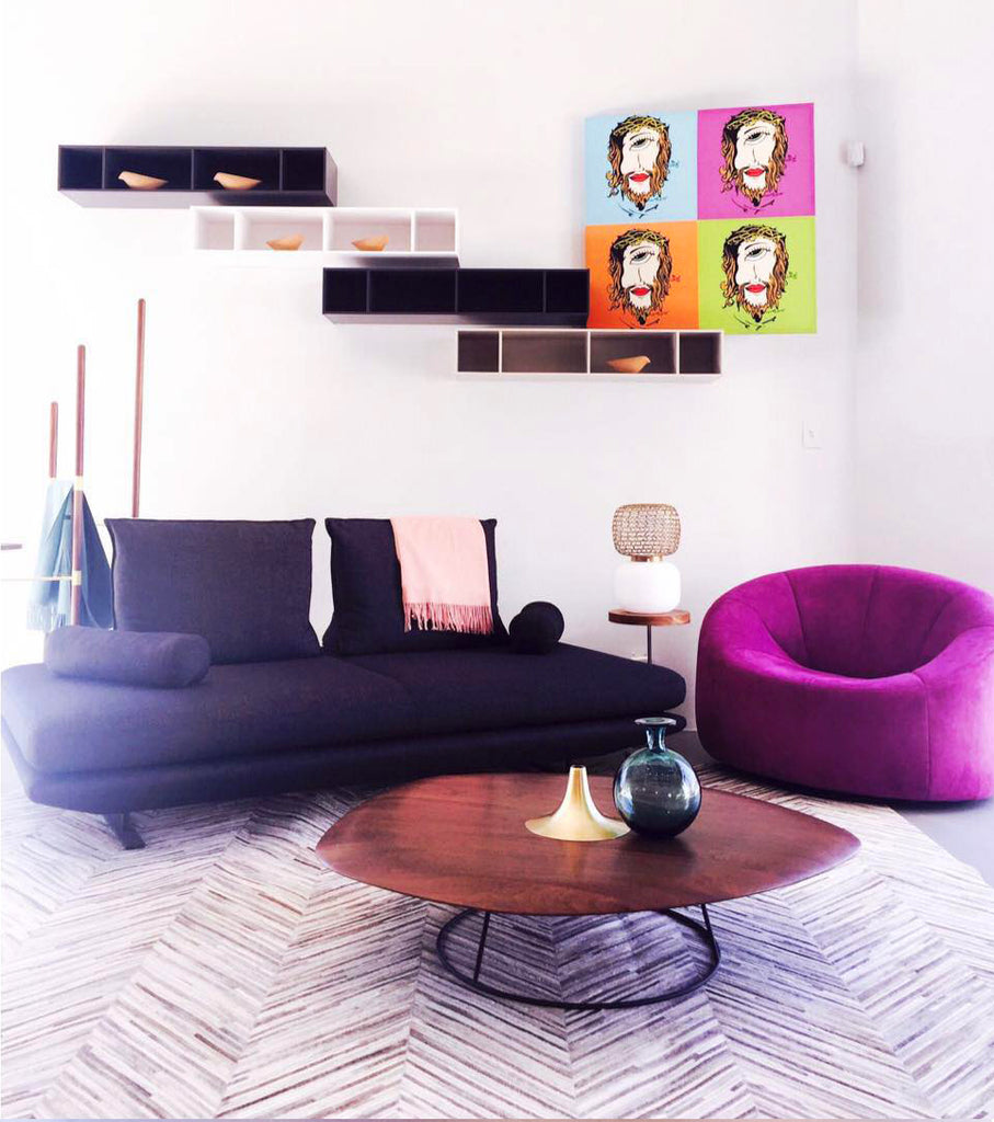 Bold & Beautiful Decor with an Eye for Modern Luxury by Ligne Roset