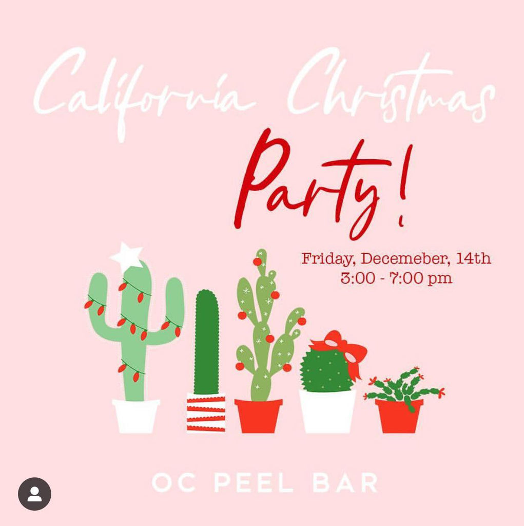 Calling All Mermaids for a California Christmas Party 12/14