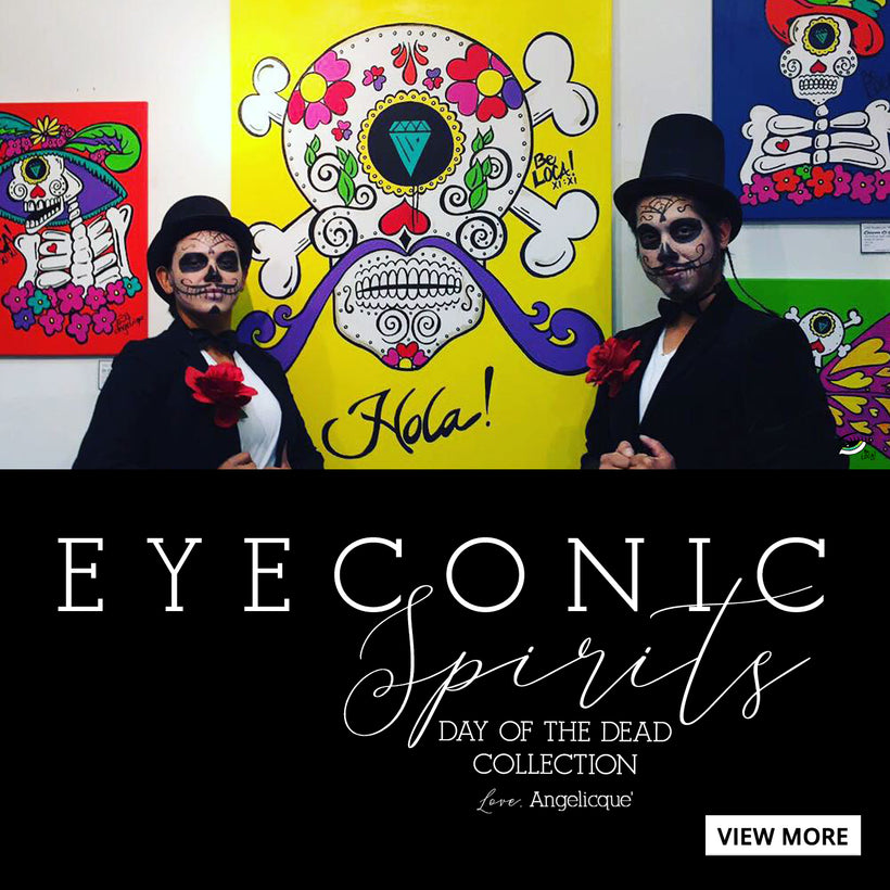Day of the Dead | Eyeconic Spirits by Angelicque'