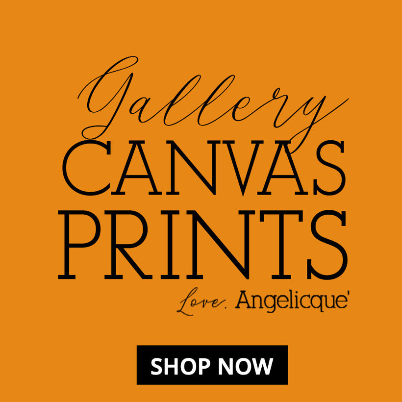 Mystical Pop Art Gallery Canvas Prints by Angelicque'