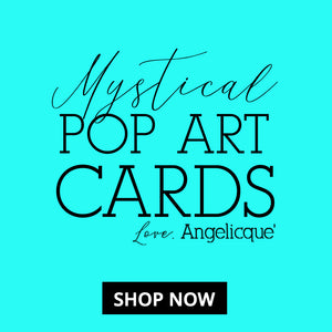 Mystical Pop Art Cards by Angelicque'