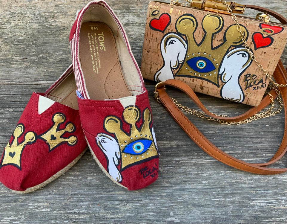 Toms Shoes |  Triple Crown by Angelicque'