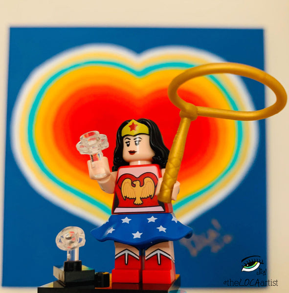 Purified Heart | Wonder Woman by Angelicque'
