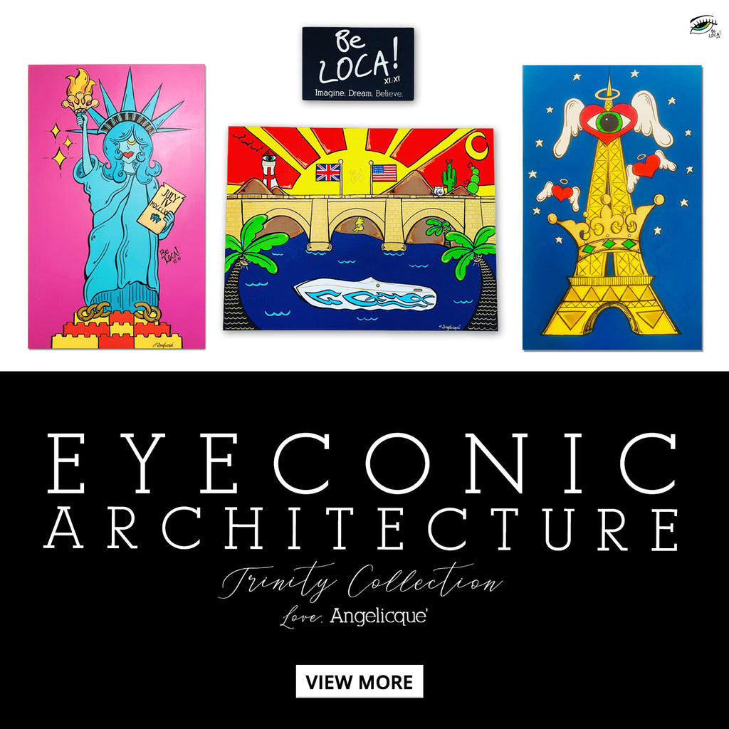FINE ART | EYEconic Architecture Trinity by Angelicque'