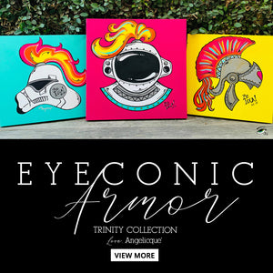 FINE ART | EYEconic Armor Trinity by Angelicque'