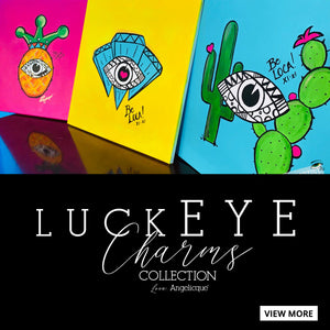 FINE ART | LuckEYE Charms by Angelicque'