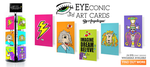 The Latest Thing | EYEconic Art Cards by Angelicque'