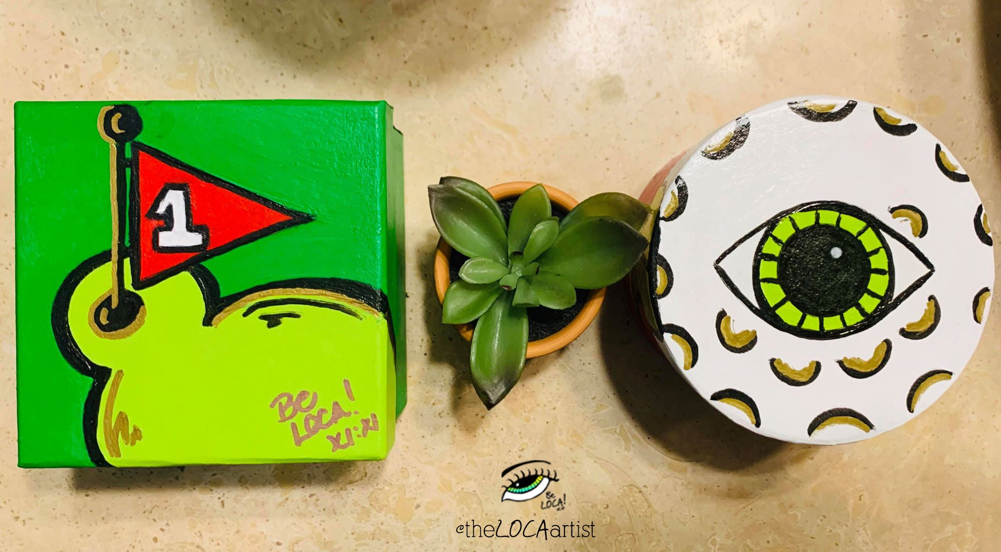 Lil BIRDEYE Golf Boxes by Angelicque'