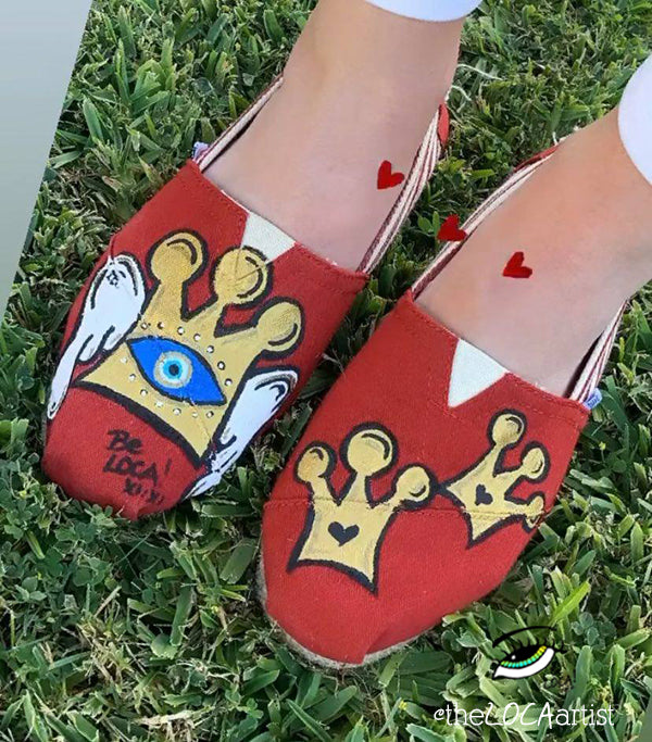 TOMS Shoes | Triple Crown Angel by Angelicque'