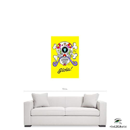Hola Bebe Dali' by Angelicque' | Gallery Canvas Print