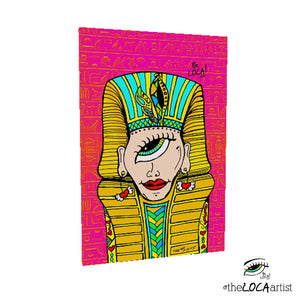 Mystical King Tut by Angelicque' ~ Gallery Canvas Print