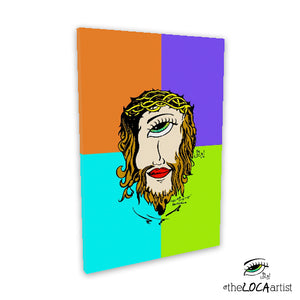 Mystical Mind's Eye Jesus by Angelicque' | MultiPop | Gallery Canvas Print