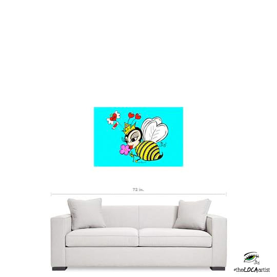 Queen Bee by Angelicque' | Gallery Canvas Print