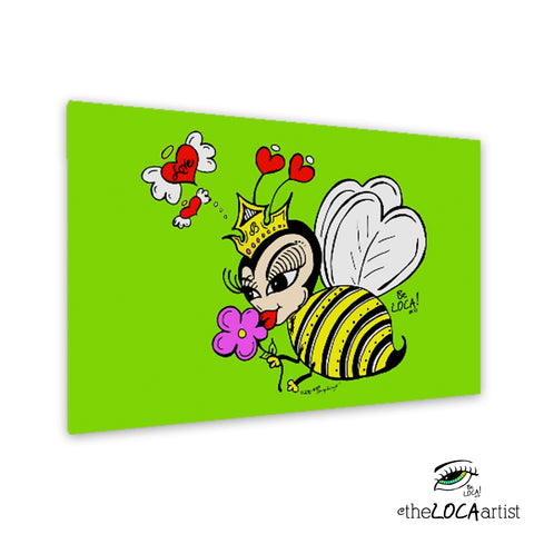 Queen Bee by Angelicque' ~ Gallery Canvas Print