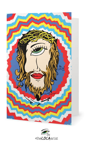 Mystical Mind's Eye Jesus | EYEconic Art Cards by Angelicque'