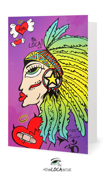Mystical Shaman Goddess | EYEconic Art Cards by Angelicque'