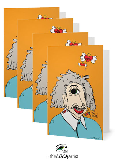 EYEnstein | EYEconic Art Cards by Angelicque'