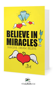 Believe in Miracles | Art Cards by Angelicque'
