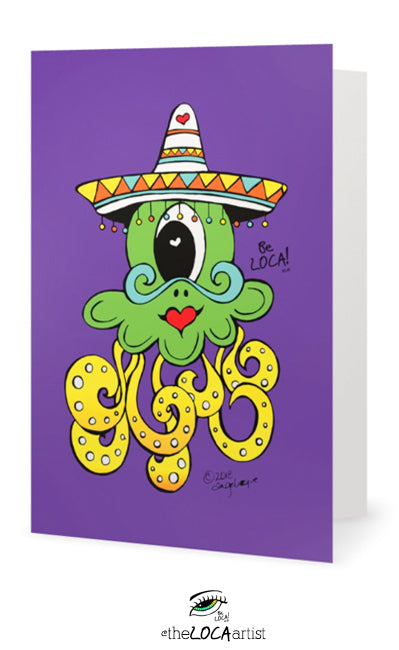 Ole' Seas the Day | Mystical Pop Art Cards by Angelicque'