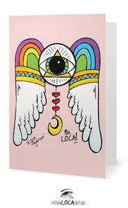 Iris Rainbow Dreams | Mystical Pop Art Cards by Angelicque'