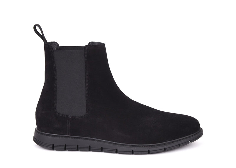 Brushed Suede Chelsea Boot