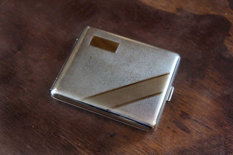 Art Deco Nickel Wallet Case
