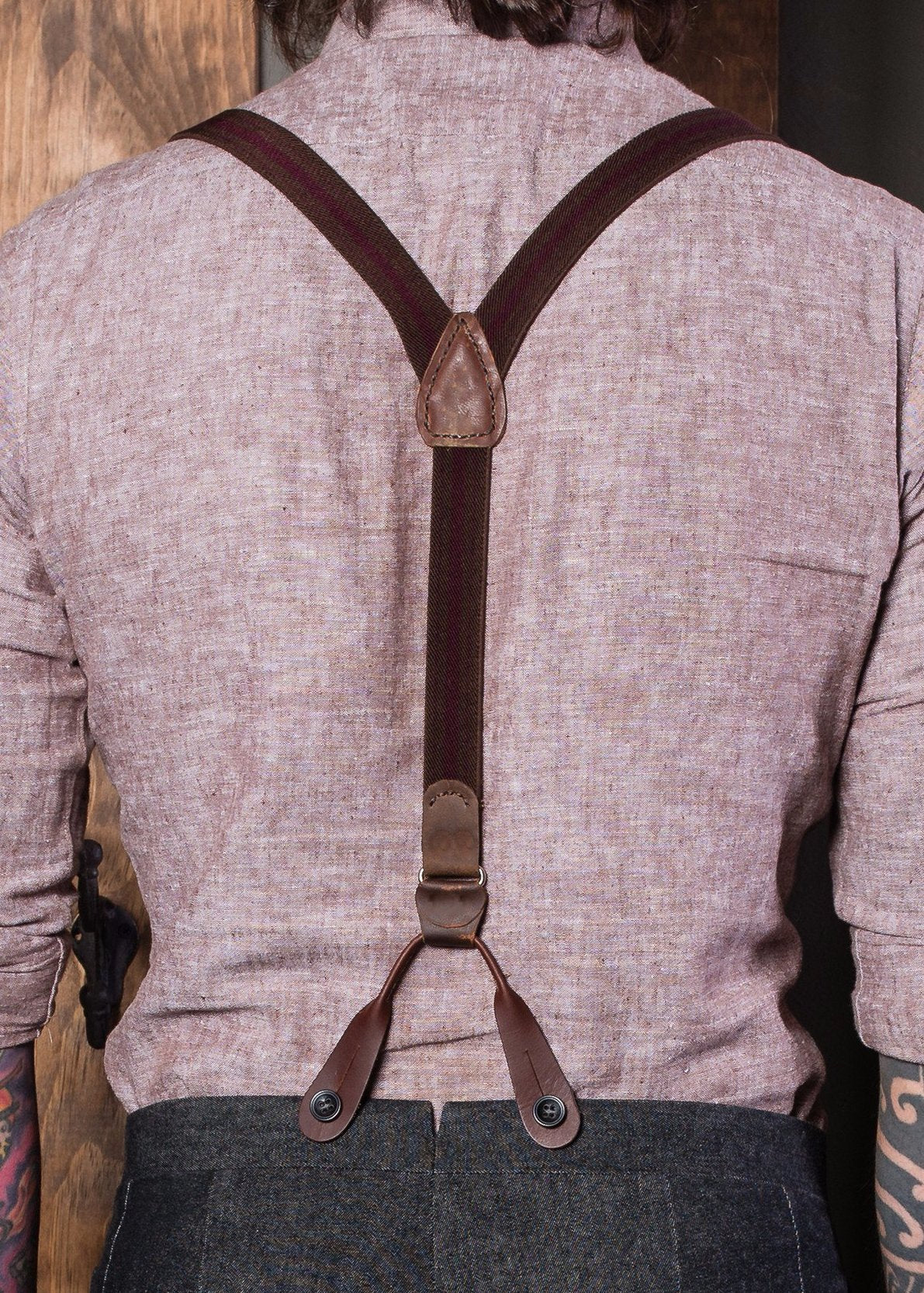 Brown And Burgundy Living Room Decor: Brown And Burgundy Suspenders