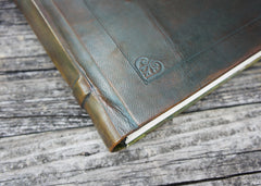 Olive Leather Journal