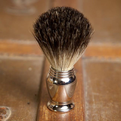 Chrome shave Brush - Bykowski Tailor & Garb