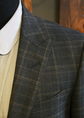 Bykowski tailor & Garb- Classic Peak jacket peak lapel Wool vintage inspired tailored fit slim fit prohibition Linen Handcrafted Edwardian 1920's 1910's