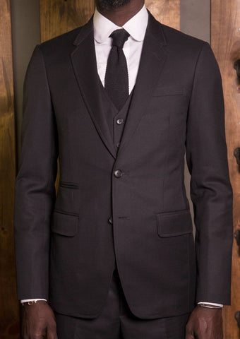 Classic Link Button suit-Bykowski Tailor & Garb Wool tailored fit prohibition peaky blinders hand crafted Dapper Classic 1920's vintage inspired Made in USA Handcrafted