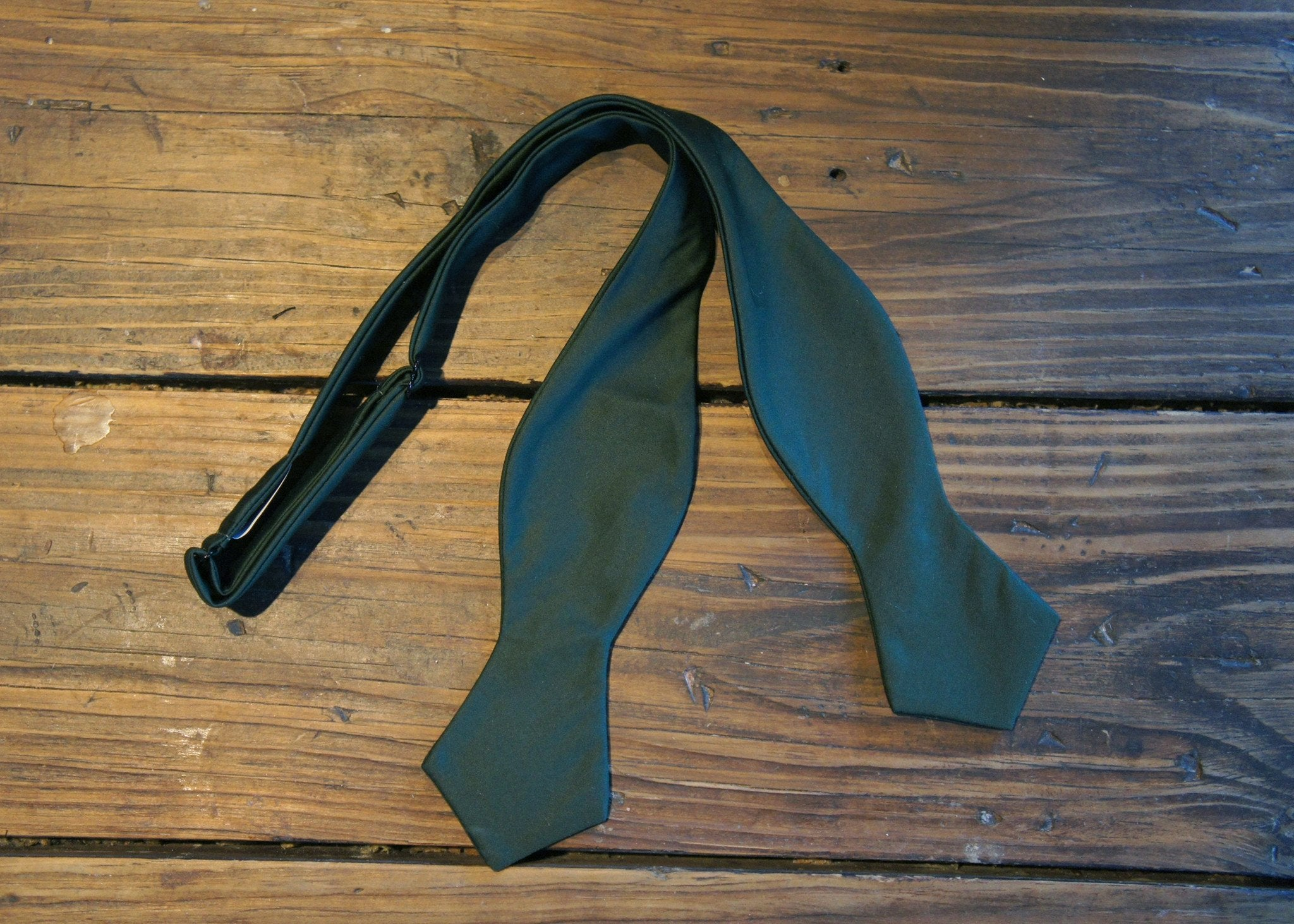 Hunter Green Cotton Bowtie