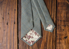 Light Sage Linen Necktie